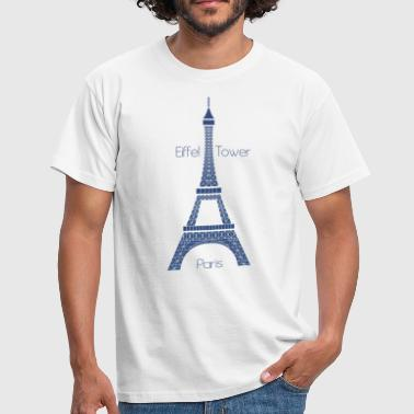 Eiffel Tower - T-shirt Homme