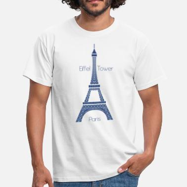 Eiffel Tower Eiffel Tower - Männer T-Shirt