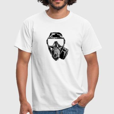 gaz mask - Men's T-Shirt