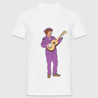 Miloo Guitar - T-shirt Homme