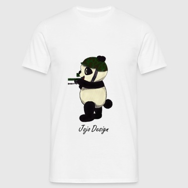 Panda Power - T-shirt Homme