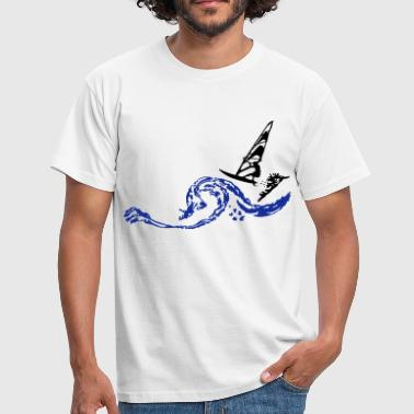 windsurfing - T-shirt Homme