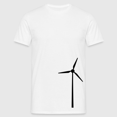 Wind wheel for renewable energies - Men's T-Shirt