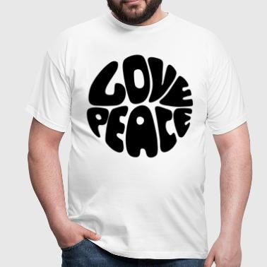 Love & Peace - T-shirt Homme