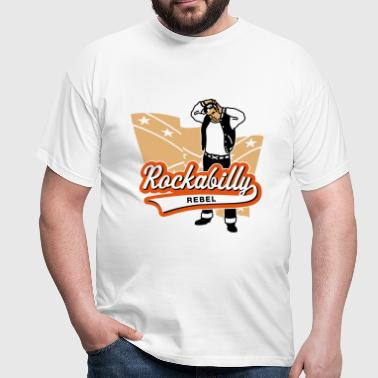 Rockabilly Rebel - Männer T-Shirt