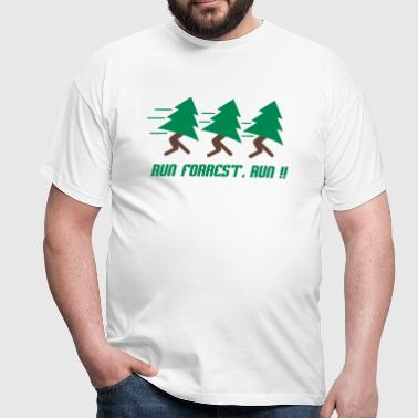 Run Forrest, Run - Mannen T-shirt