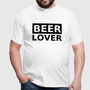 beer lover - Men's T-Shirt