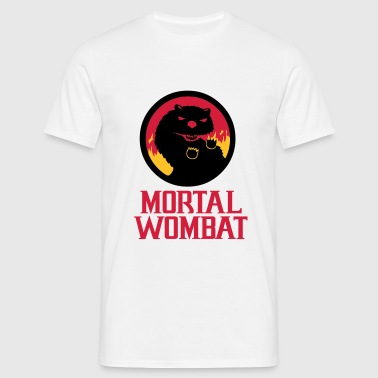 Mortal Wombat - Men's T-Shirt