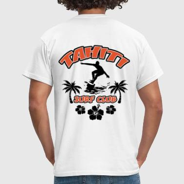 tahiti surfing design 1 - T-shirt Homme