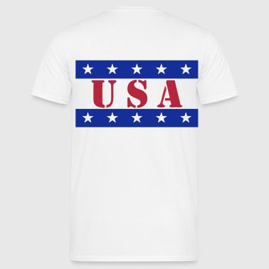 usa vector design - T-shirt Homme