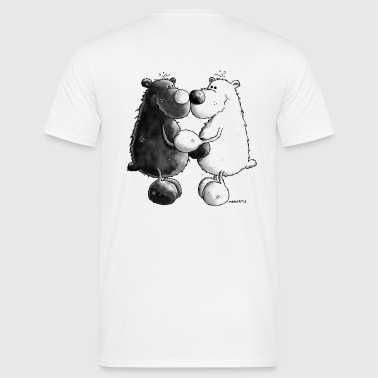 Best Friends - Bear - Bears - Men's T-Shirt