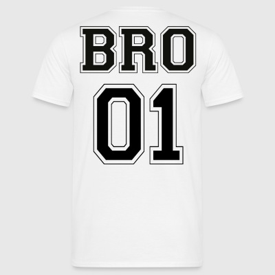 BRO 01 - Black Edition - Mannen T-shirt