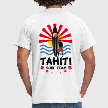 Tahiti surf team - T-shirt Homme