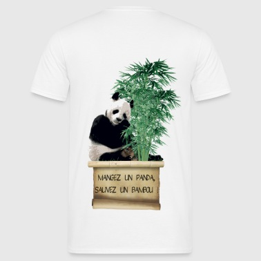 Eat a Panda - T-shirt Homme