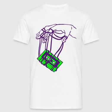 Hand & tape - Men's T-Shirt