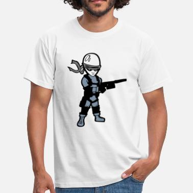 Metal Gear Solid metal ash solide - T-shirt Homme