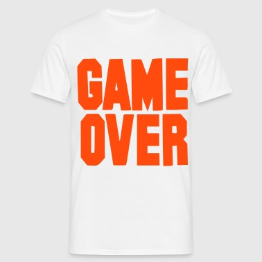 Game over - stag and hen - bachelor - Men's T-Shirt