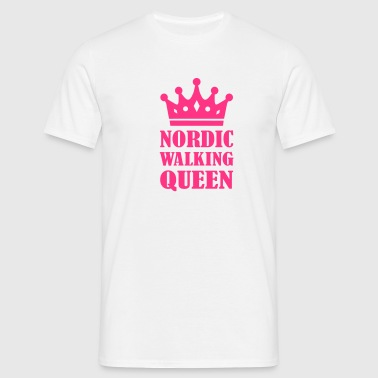 Nordic Walking Queen - Männer T-Shirt