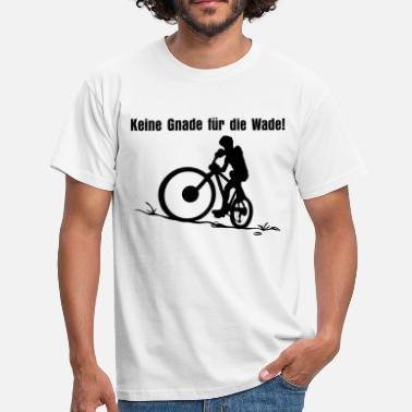 Schablone Mountainbike Mountainbike - Männer T-Shirt