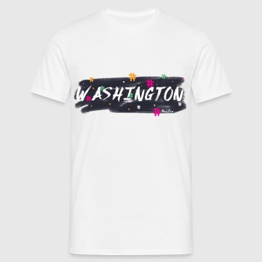 Washington # 1 - T-skjorte for menn