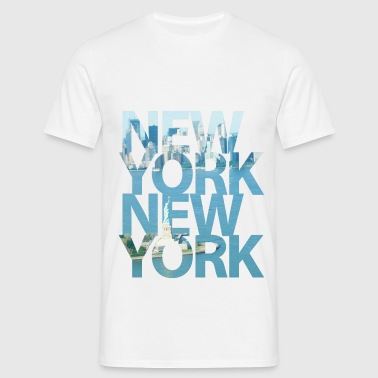 New York, New York - Männer T-Shirt