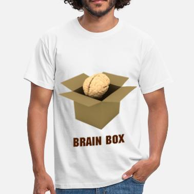 Brain Box - Men's T-Shirt