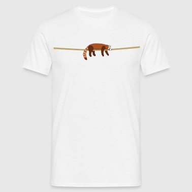 red panda - Men's T-Shirt