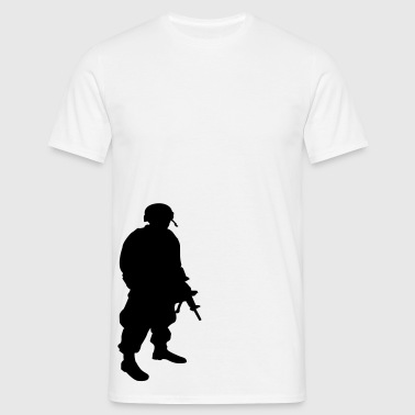 soldier - Men's T-Shirt