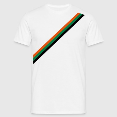 strip - flag - Herre-T-shirt