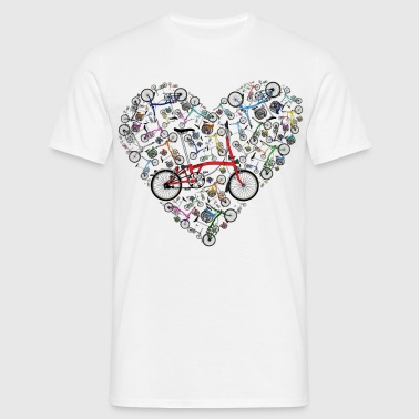 I Love Brompton Bikes - Men's T-Shirt