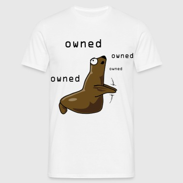 Owned-Robbe - Männer T-Shirt
