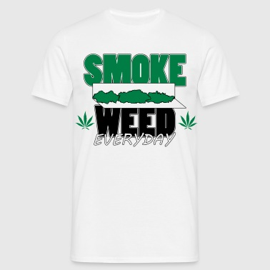 smoke weed everyday rolls - T-shirt Homme