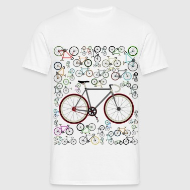 Love Fixie Road Bike - Men's T-Shirt