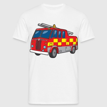 Fire Engine - Men's T-Shirt
