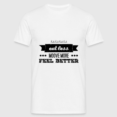 The healthy way of life - T-shirt Homme