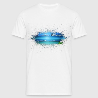 Sea Rocks - T-shirt Homme