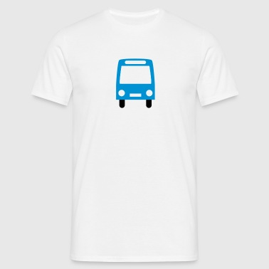 bus - Herre-T-shirt