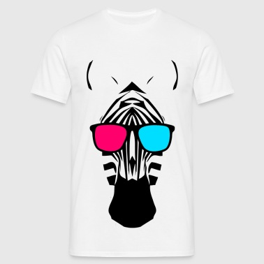 Party Zebra - Männer T-Shirt