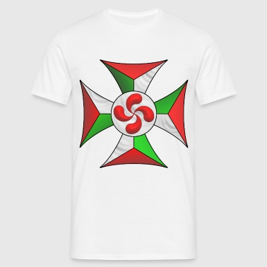 basque cross 3 - Men's T-Shirt
