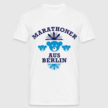 marathoner_aus_berlin - Men's T-Shirt