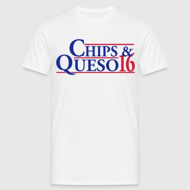 Chips & Queso - Men's T-Shirt