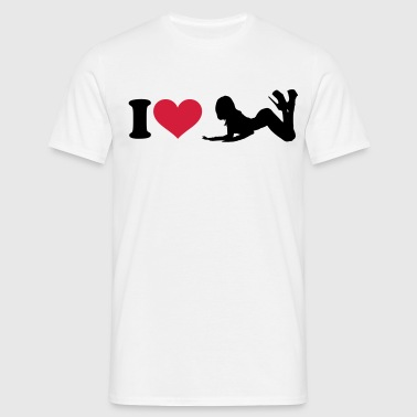 I - HEART - T-shirt Homme