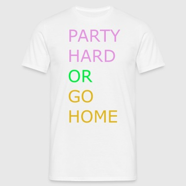 Party Hard - Herre-T-shirt