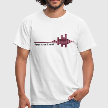 feel the beat - Men's T-Shirt