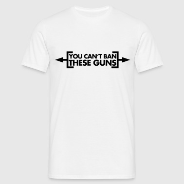 Ban These Guns - T-shirt Homme
