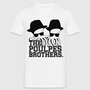 The Poulpes Brothers - T-shirt Homme