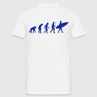 Surfer Evolution - Männer T-Shirt