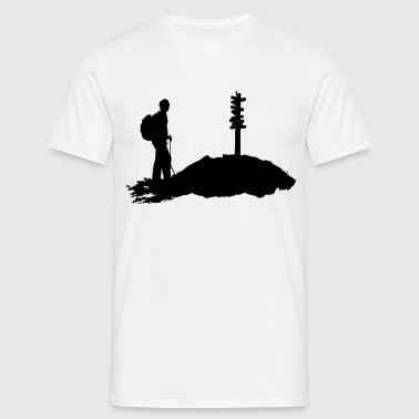 Hiking, Hiker - Men's T-Shirt