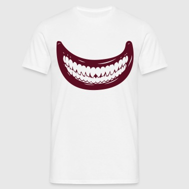 mouth monster halloween horror - Men's T-Shirt
