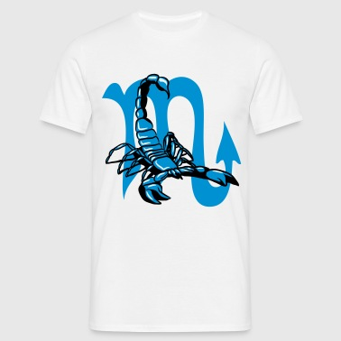 Scorpion attackerade stjärntecken horoskop tecken - T-shirt herr